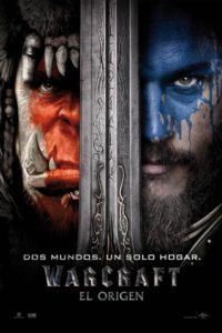"Poster for the movie ""Warcraft El Origen"""