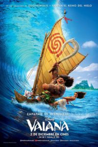 "Poster for the movie ""Vaiana"""