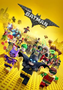 "Poster for the movie ""Lego Batman: La película"""