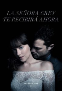 "Poster for the movie ""Cincuenta sombras liberadas"""