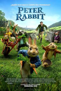 """Poster for the movie """"Peter Rabbit"""""""
