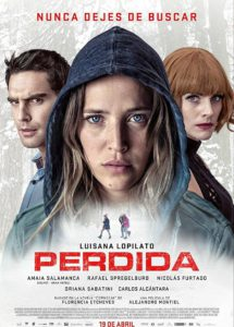 """Poster for the movie """"Perdida"""""""