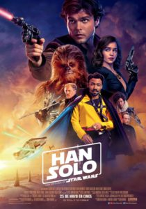 "Poster for the movie ""Han Solo: Una Historia de Star Wars"""