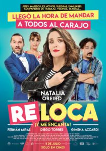 """Poster for the movie """"Re Loca"""""""