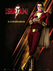 "Poster for the movie ""¡Shazam!"""