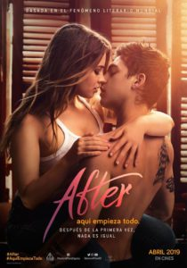 "Poster for the movie ""After. Aquí empieza todo"""
