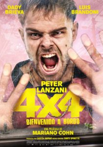 "Poster for the movie ""4x4"""