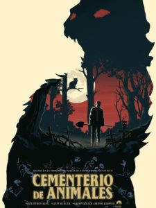 "Poster for the movie ""Cementerio de animales"""
