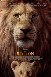 "Poster for the movie ""El Rey León"""