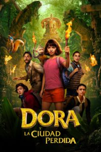 "Poster for the movie ""Dora y la ciudad perdida"""