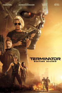 "Poster for the movie ""Terminator: Destino Oscuro"""